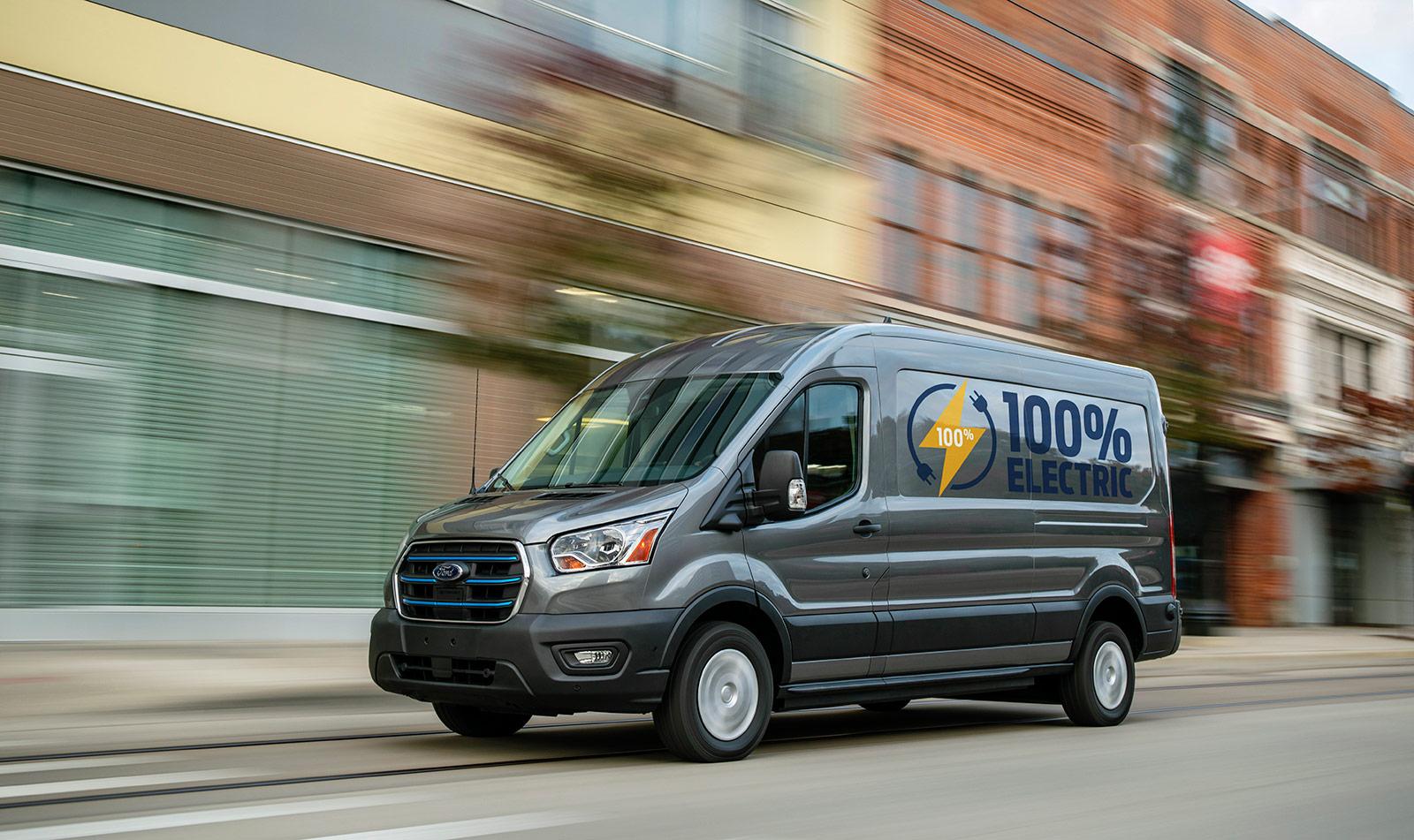 Представлен электрический автофургон Ford E-Transit