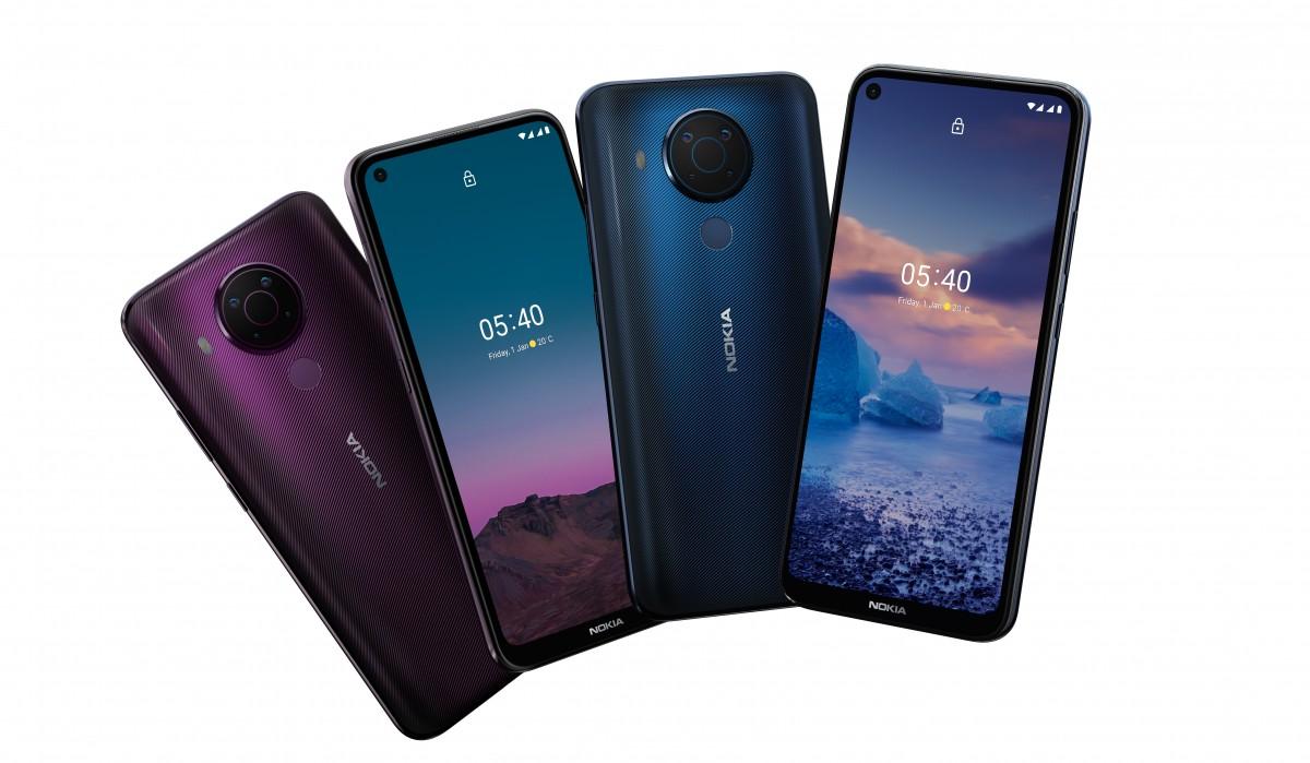 Представлен смартфон Nokia 5.4