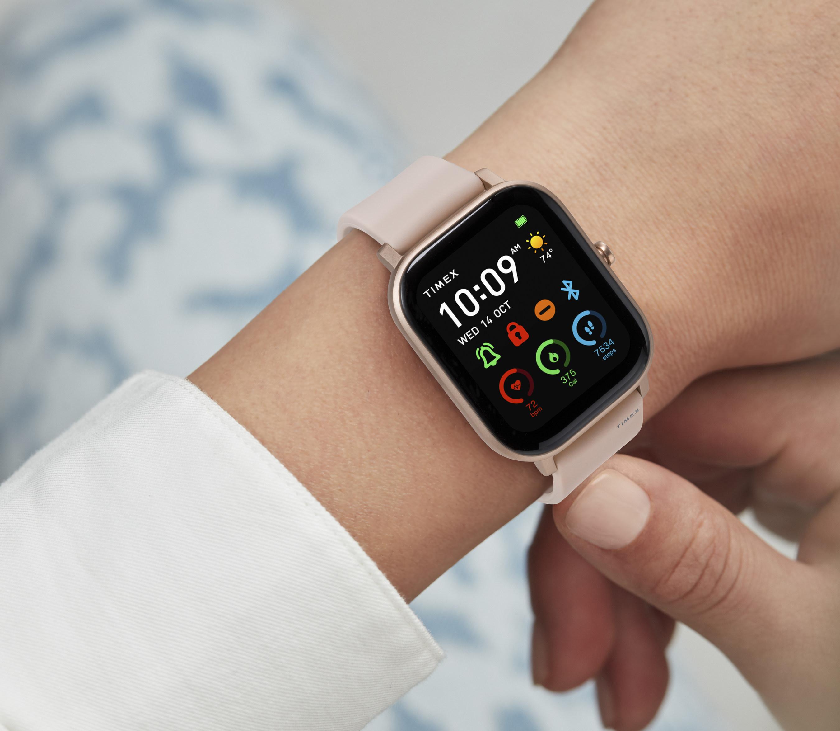 Timex и Huami представили умные часы Metropolitan с 2-недельным временем работы