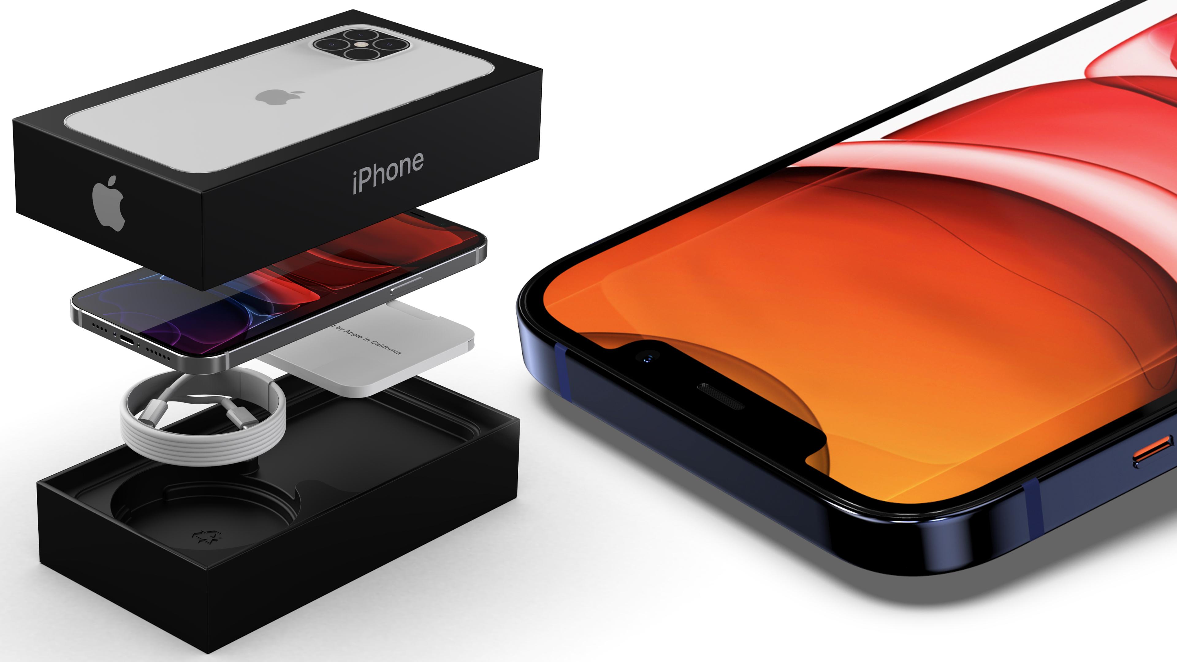 Как Apple сэкономит на пользователях. Компактная коробка iPhone 12 без наушников и зарядного устройства во всей красе