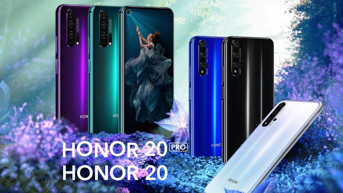 У пользователей Honor 20 и Honor 20 Pro праздник. Большое обновление началось в Европе