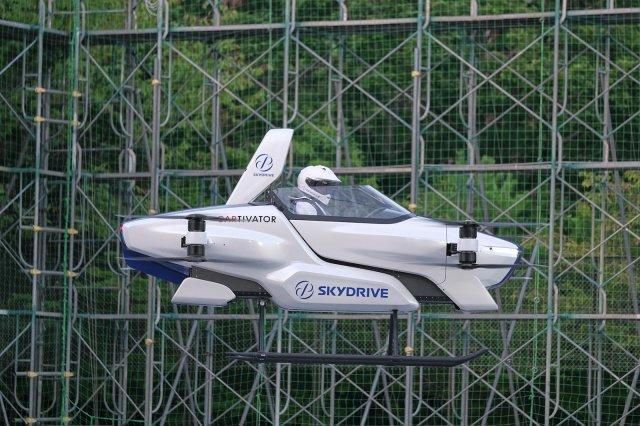 Поддерживаемый Toyota стартап SkyDrive начал открытые испытания летающего электромобиля