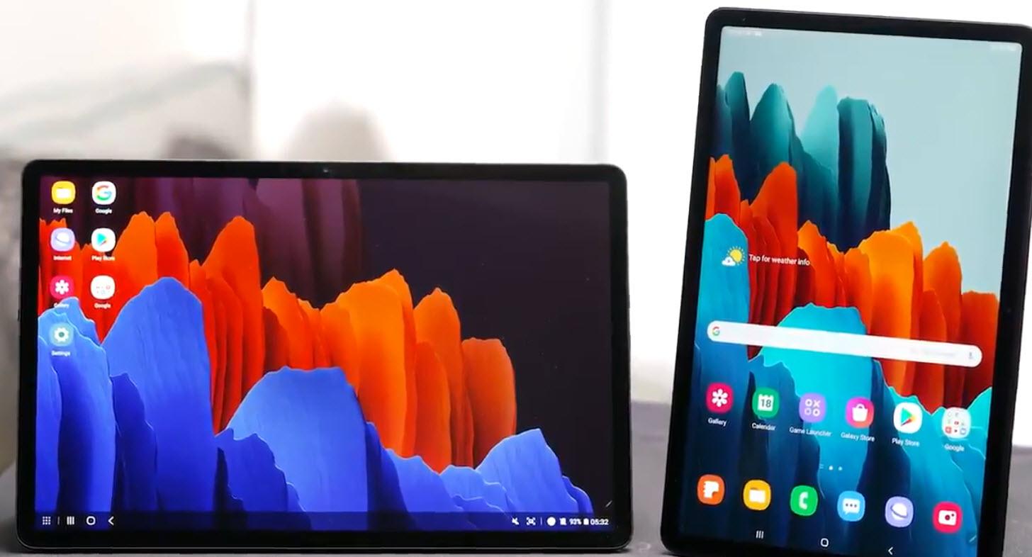 Galaxy Tab S7 і S7