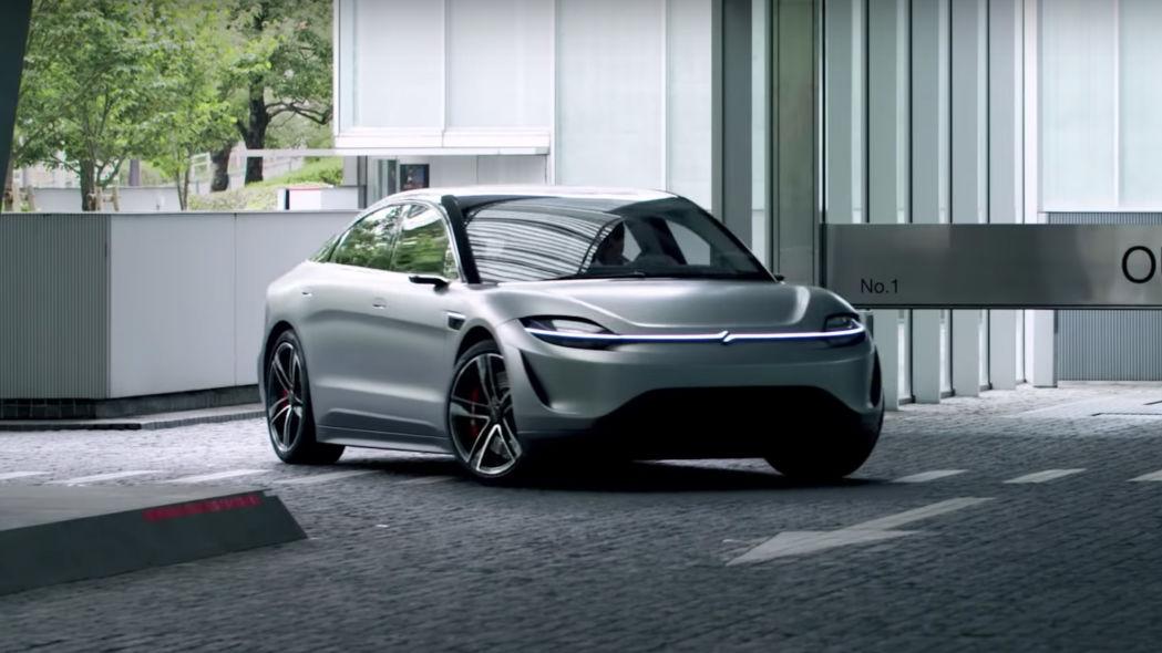 Самый неожиданный конкурент Tesla? Sony начинает тестировать свой электромобиль на дорогах общего пользования