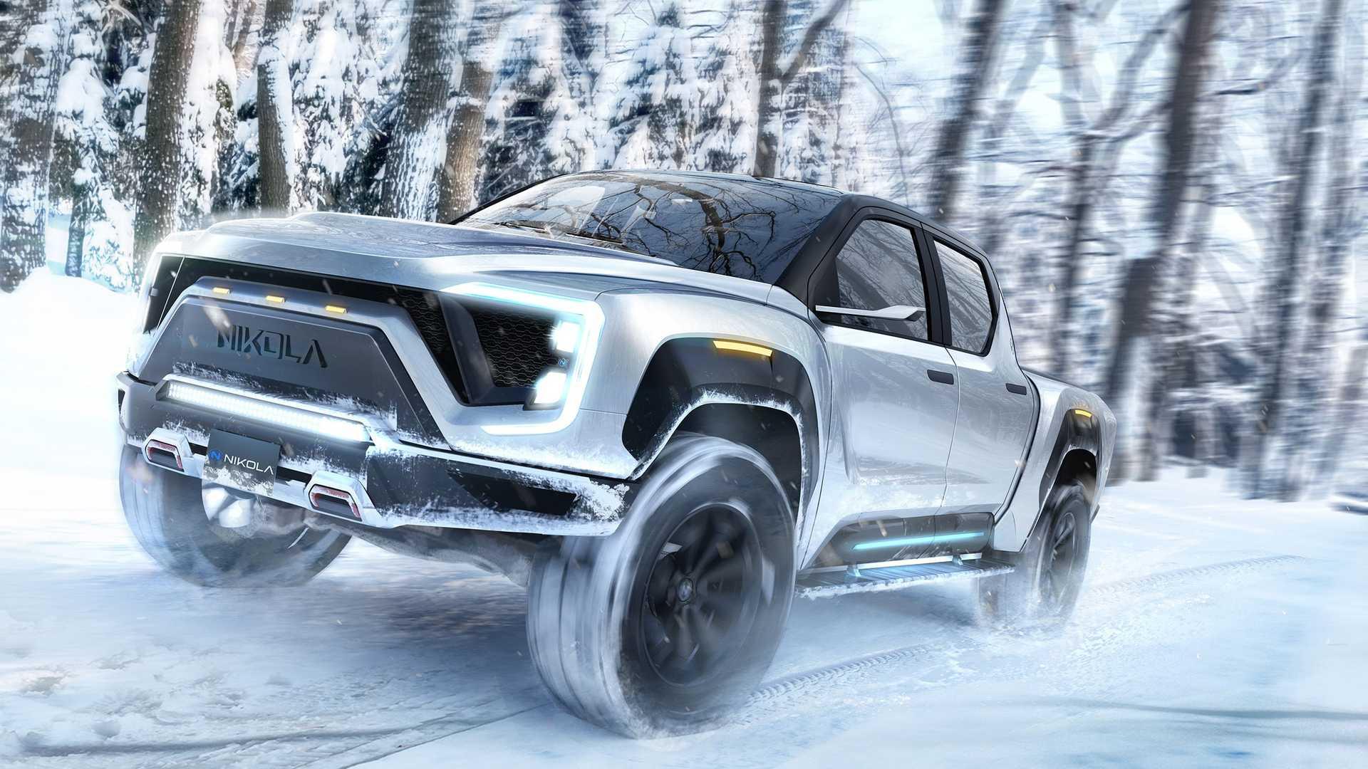 General Motors будет выпускать электрические пикапы Nikola. Акции обеих компаний взлетели после анонса