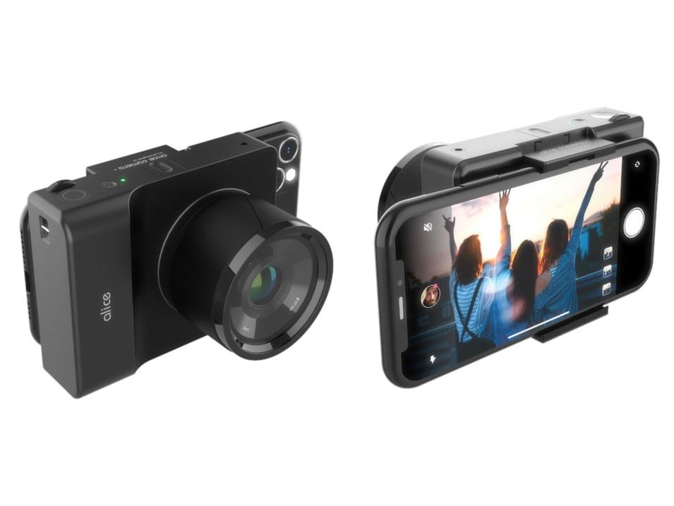 Alice Camera — попытка превратить смартфон в камеру со сменным объективом