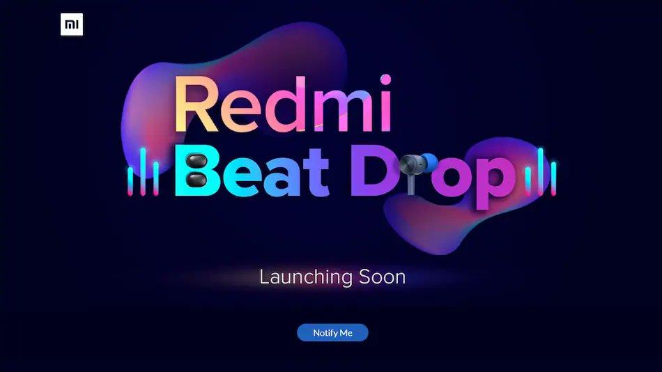 Beat Drop — новые наушники Redmi