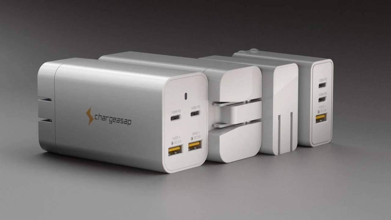 Самое маленькое в мире зарядное устройство GaN взорвало Kickstarter. Собрано более миллиона долларов