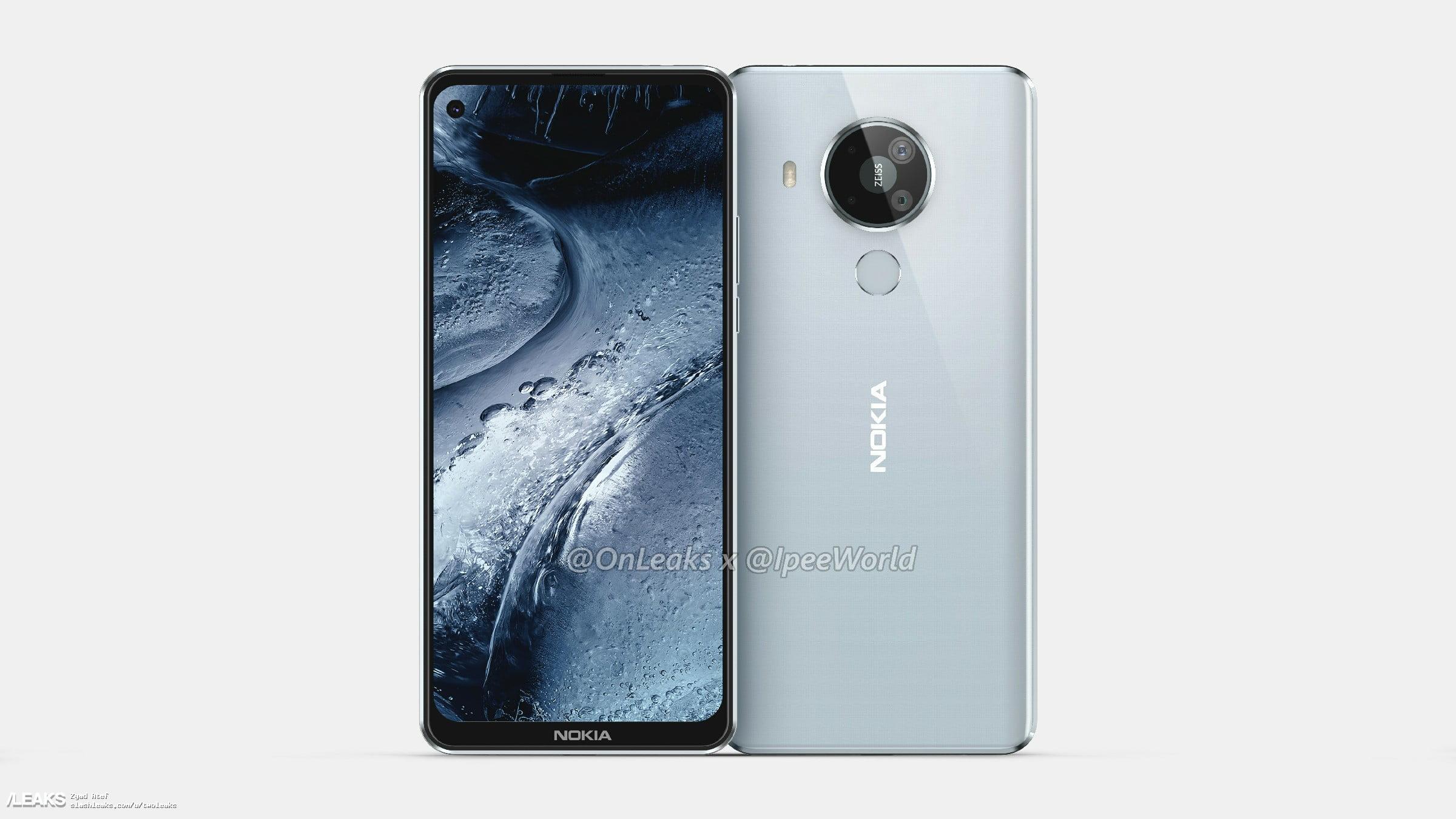 Nokia 7.3 впервые показали со всех сторон
