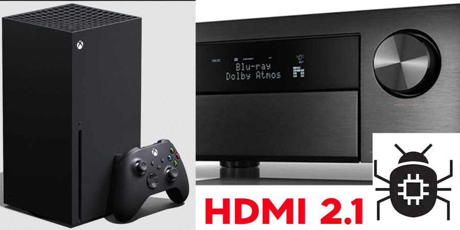 Ошибка в чипсете HDMI 2.1 может вызвать черный экран при подключении консоли Xbox Series X или компьютера с видеокартой Nvidia Ampere через AV-ресивер