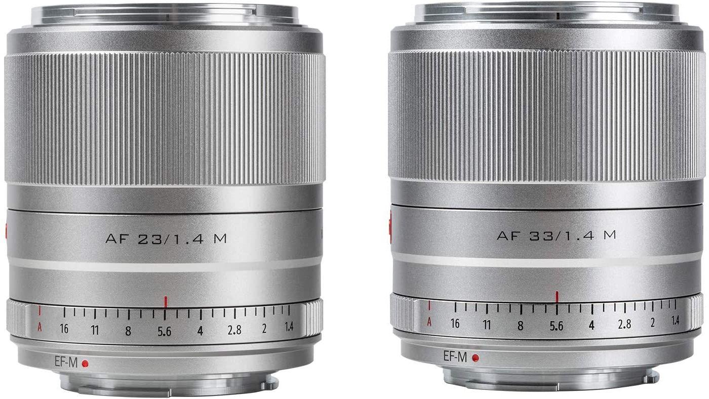 Начались продажи объективов Viltrox 23mm F1.4 STM и 33mm F1.4 STM с креплением Canon EF-M - iXBT.com