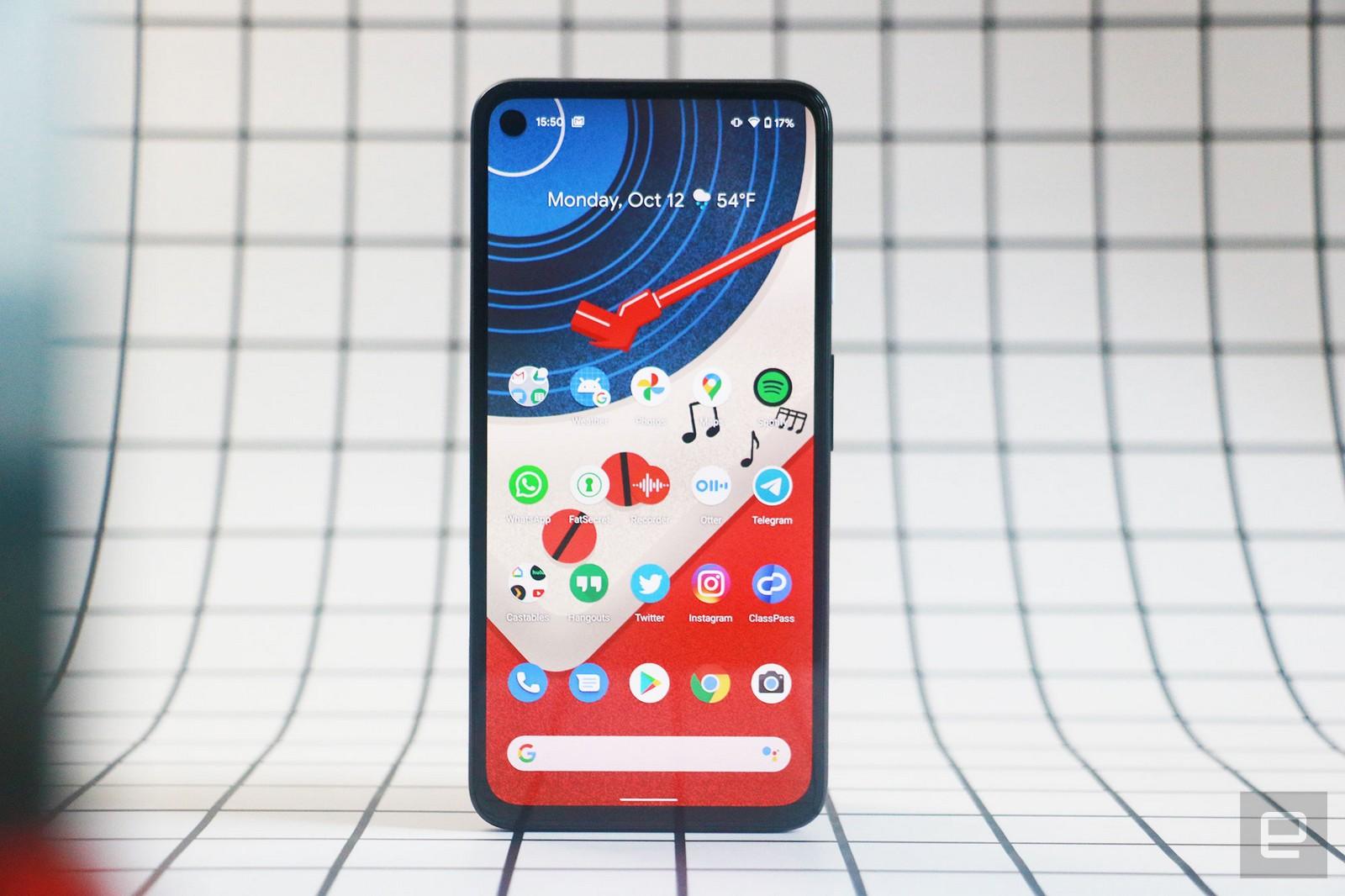 Pixel 5g google 4a