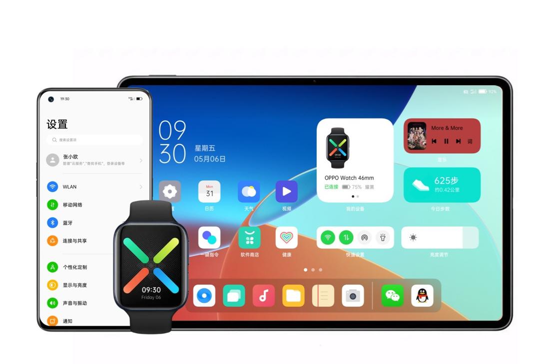Oppo анонсирует ColorOS 12 на базе Android 12 на этой неделе (OPPO ColorOS 12 Smartphone Tablet Smartwatch%20(1) large)