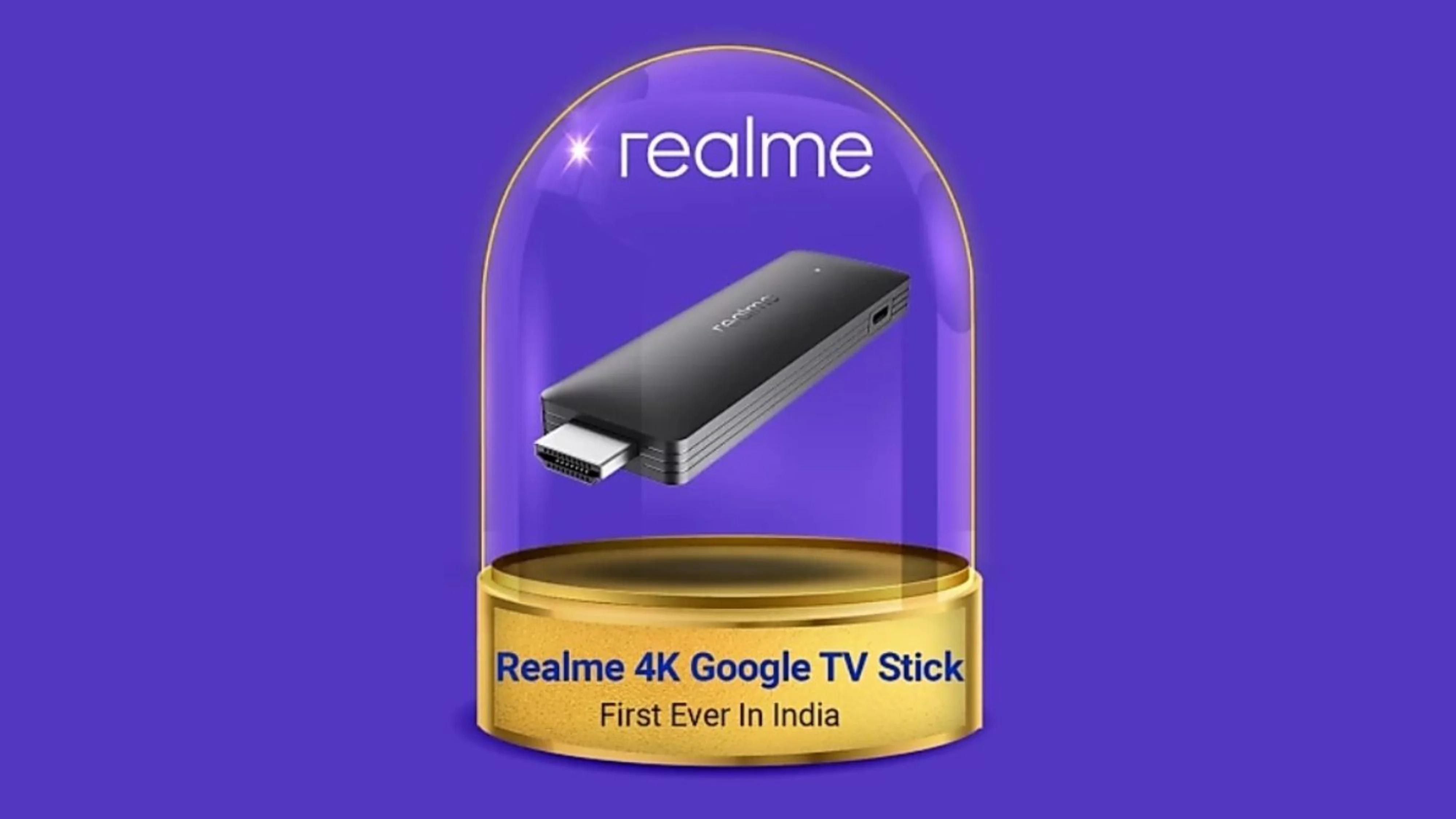 Первый ТВ-стик Realme значительно превосходит Xiaomi Mi TV Stick и Chromecast with Google TV: он имеет вдвое больше памяти