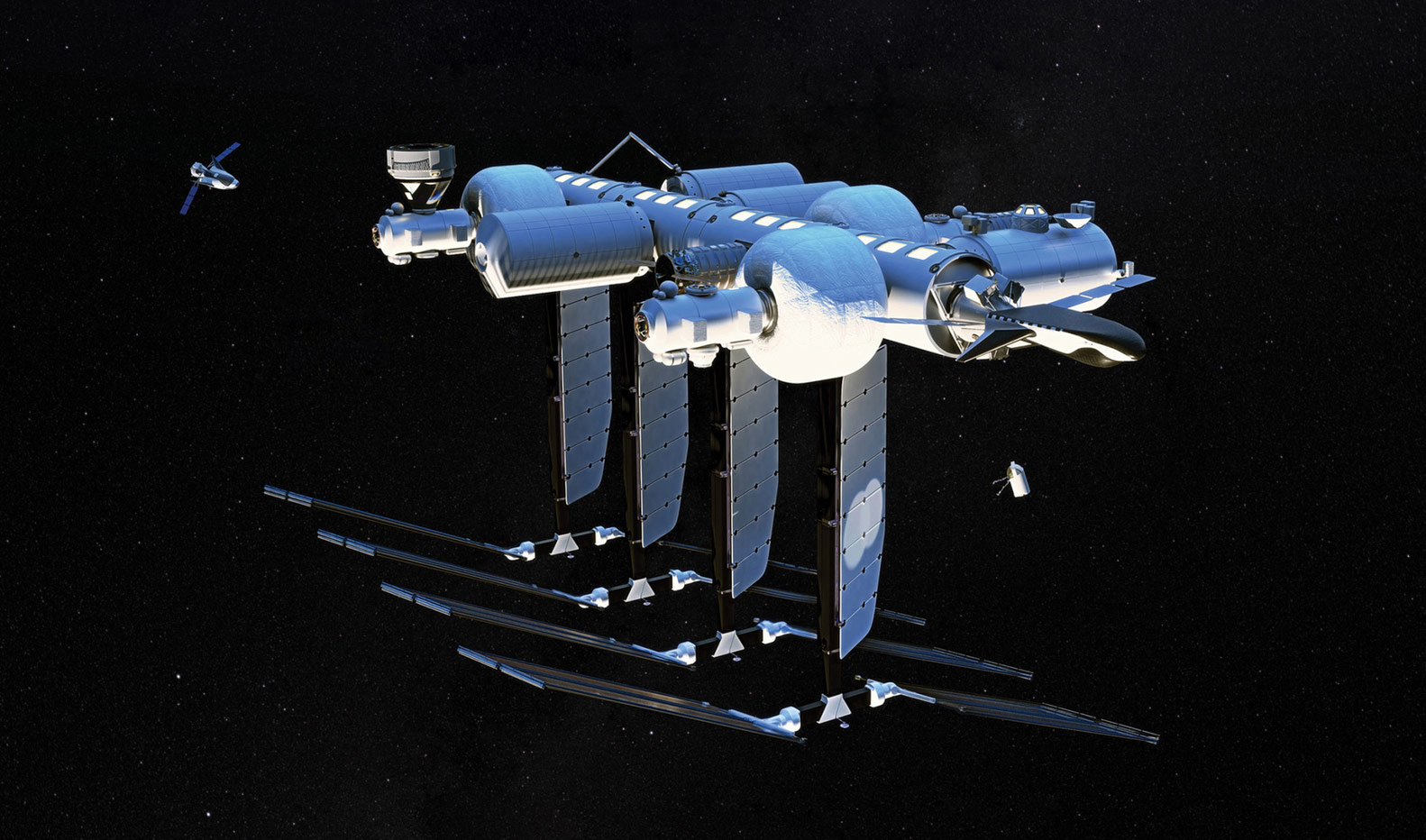 Blue Origin и Sierra Space планируют создать коммерческую космическую станцию