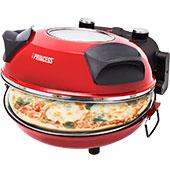 Мини-печь для пиццы Princess 115003 с керамическим «камнем»: температура нагрева 360-400°C и практически «настоящая пицца»