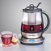Электрический чайник Rommelsbacher TA 1400 с функцией заварки чая: не столько универсальный нагреватель воды, сколько именно устройство для приготовления чая