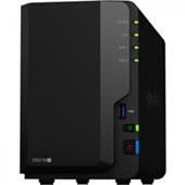 Сетевой накопитель Synology DS218+ на платформе Intel Celeron: младшая модель cерии Plus