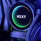 Система жидкостного охлаждения NZXT Kraken X72 с радиатором на три вентилятора 120 мм и RGB-подсветкой помпы