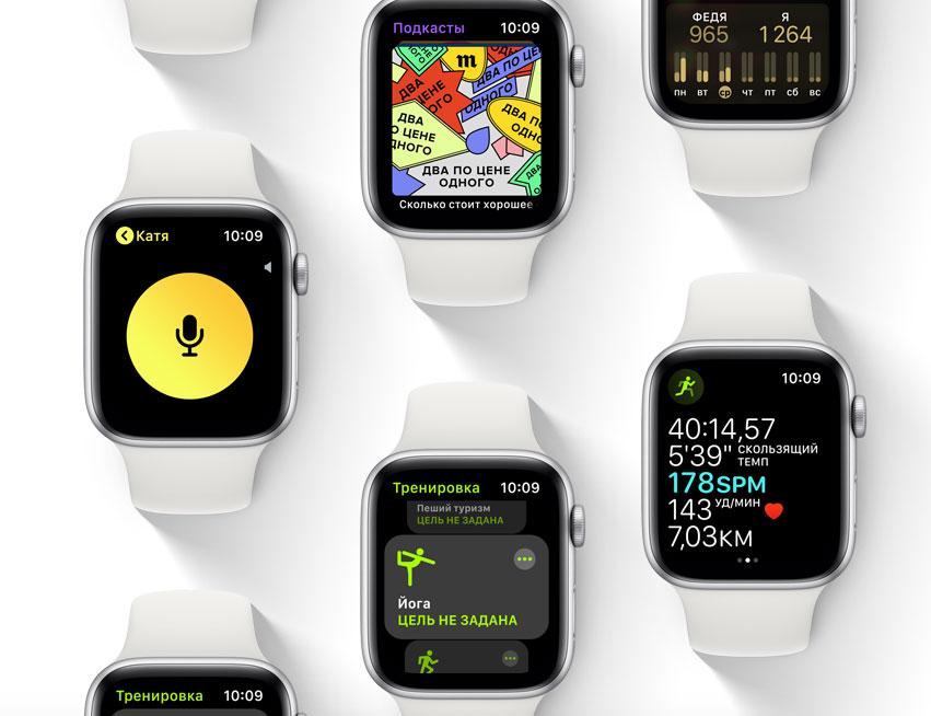 6495fddf Обзор умных часов Apple Watch Series 4