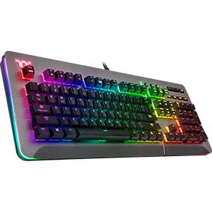 игровая клавиатура thermaltake level rgb механические переключатели уникальные