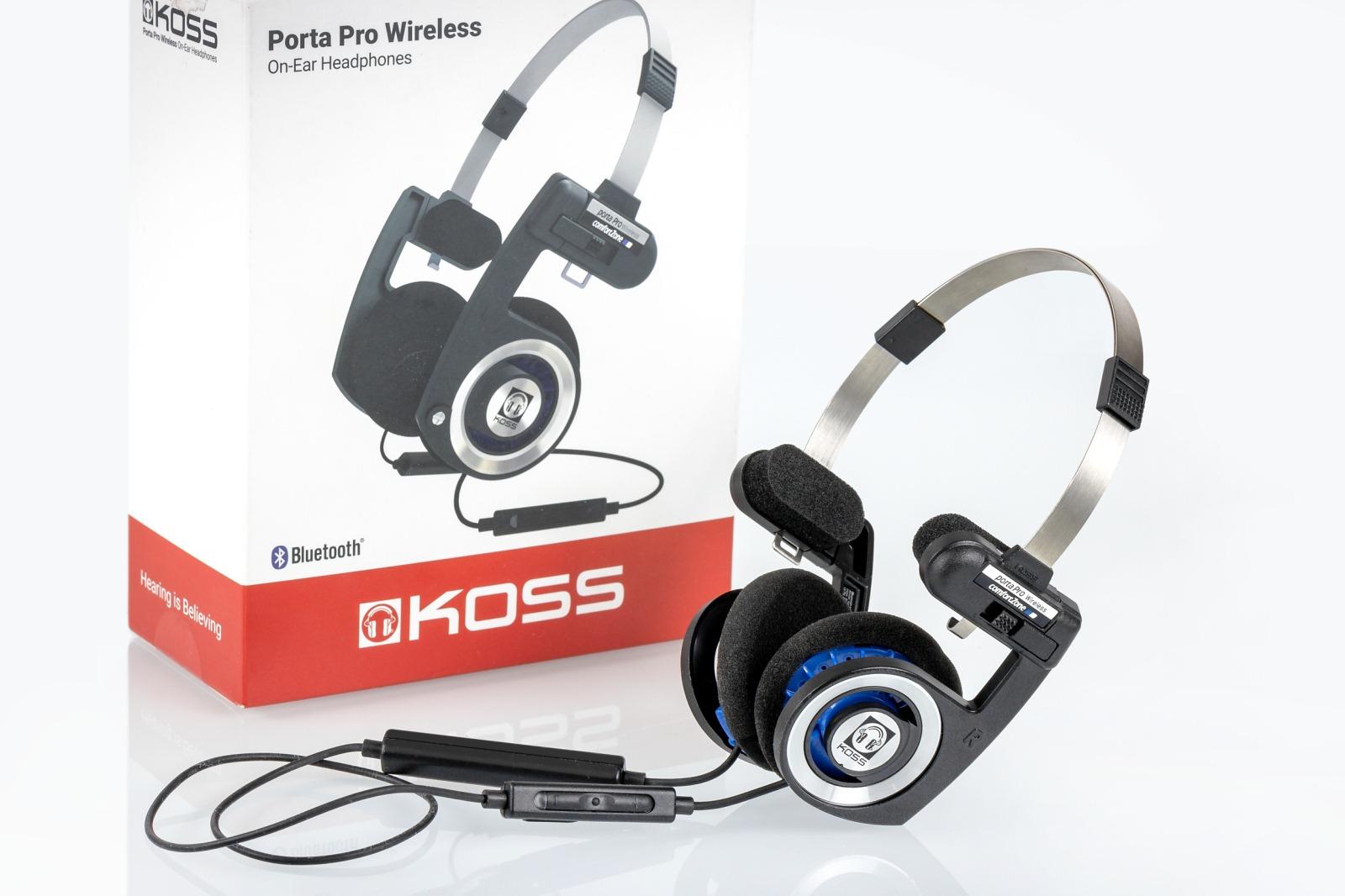 Обзор Koss Porta Pro Wireless — беспроводной версии легендарных ... 92dffe7fd7973