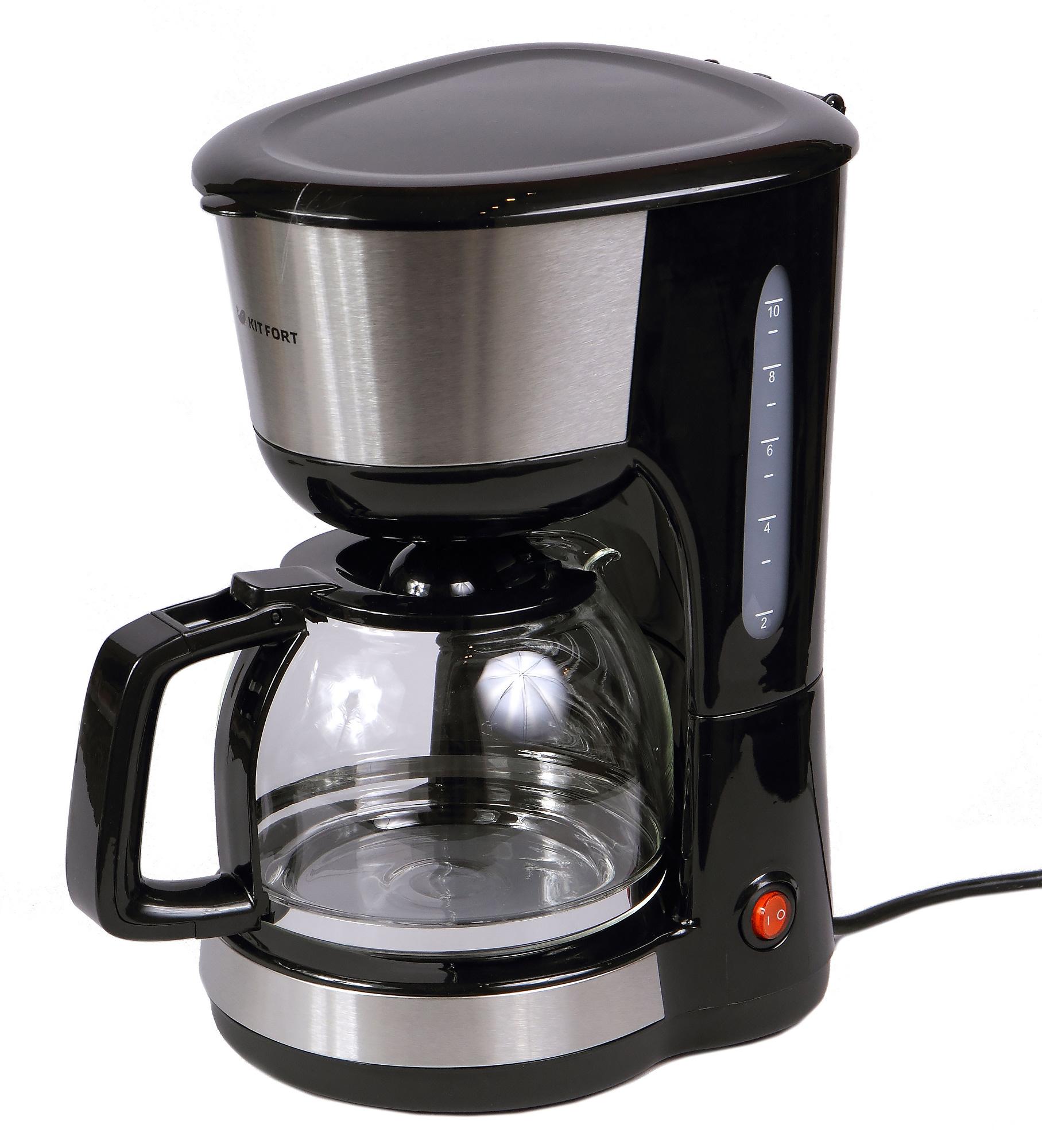Кофеварка капельная kitfort kt 715