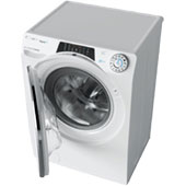 Узкая стиральная машина с сушкой Candy RapidO ROW42646DWMC-07: тихая и с управлением со смартфона