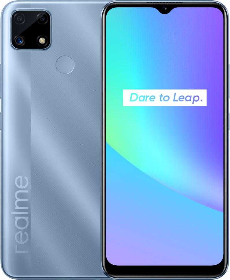 Смартфон Realme C25: NFC, большая батарея и прочие приятные особенности в бюджетной модели