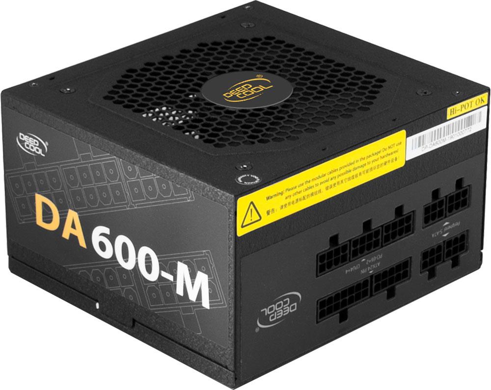 Блок питания Deepcool DA600-M: бюджетное решение с полностью японскими конденсаторами