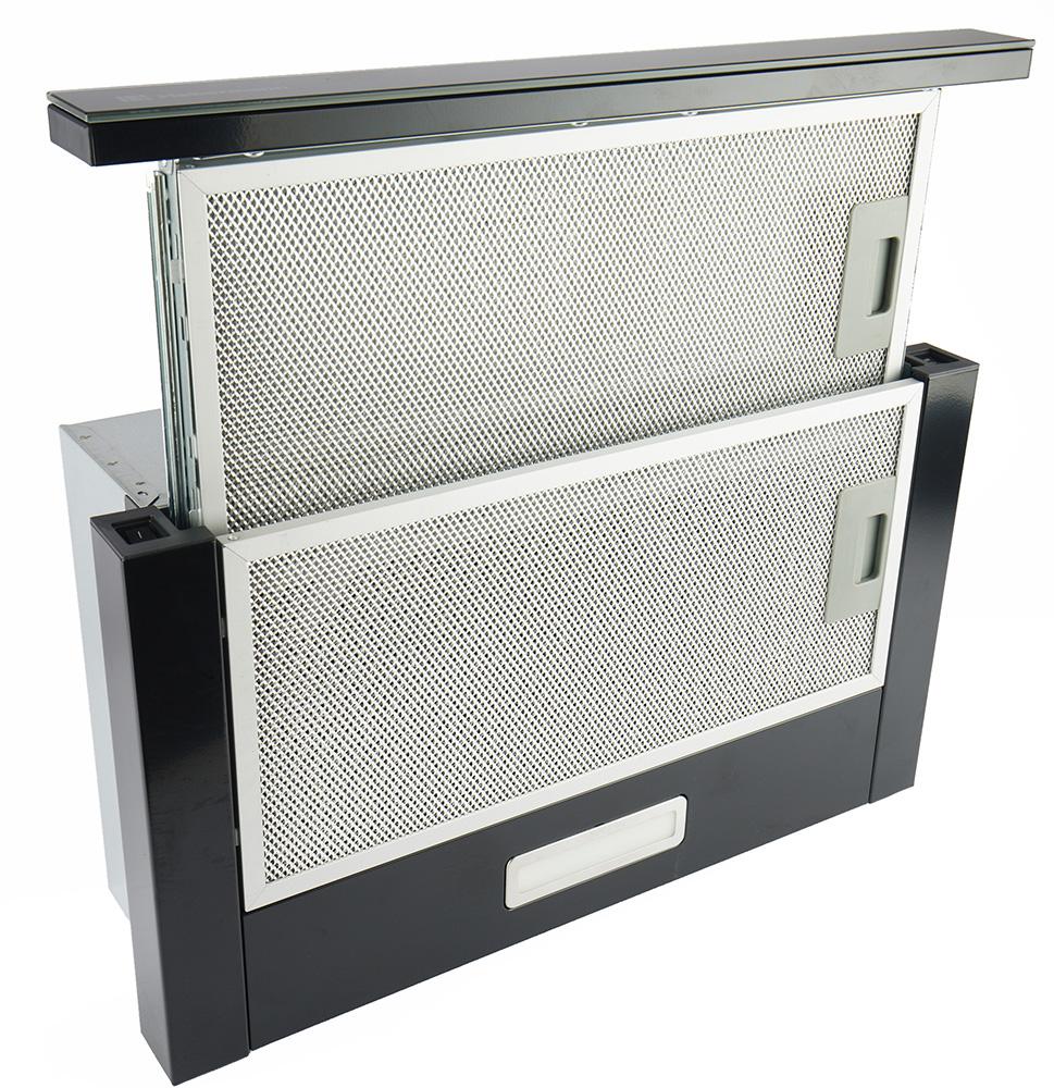 Кухонная вытяжка Hebermann HBFH 50.2 B: тихая раздвижная модель