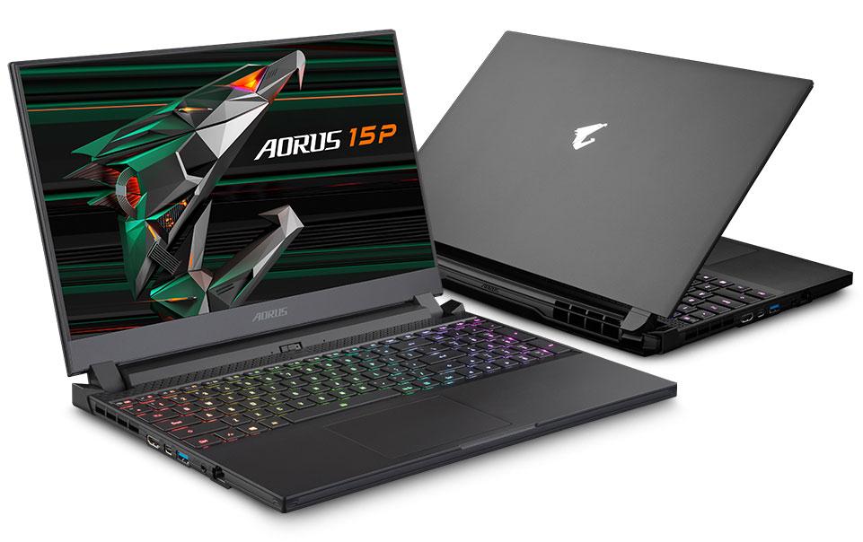 Игровой ноутбук Gigabyte Aorus 15P XD: Intel Core i7-11800H, Nvidia GeForce RTX 3070 Laptop и интеллектуальное управление