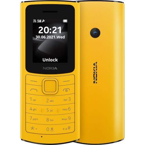 Кнопочный телефон Nokia 110 4G: поддержка технологии VoLTE, фонарик и пародия на камеру