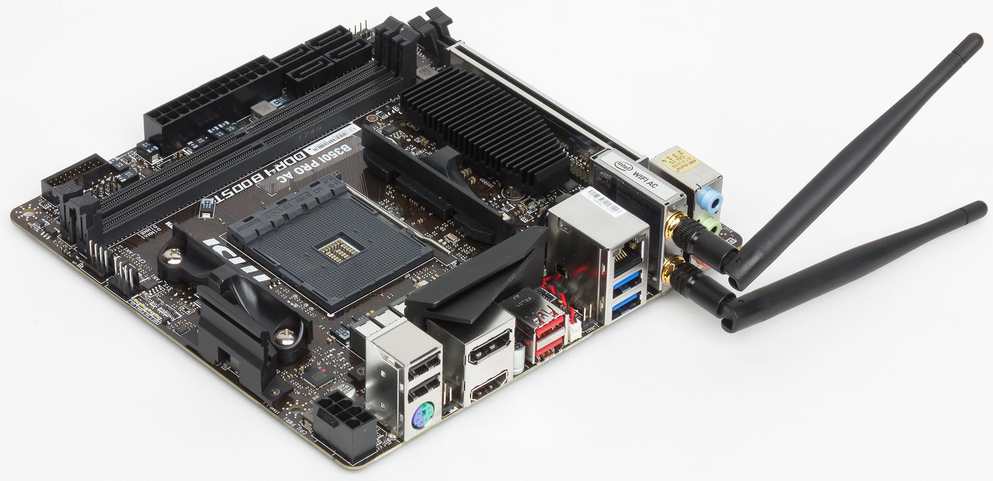 Конфигурация и особенности пРаты Сводная табРица характеристик пРаты MSI B350I Pro