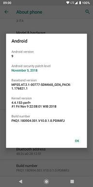 Смартфон Xiaomi Mi A2 получил обновление прошивки до Android 9.0 Pie
