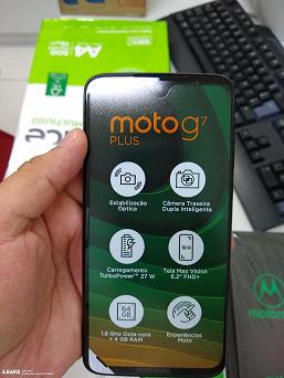 Смартфон Moto G7 Plus позирует на живых фото, в его камере реализована система оптический стабилизации