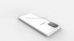 L-образная квадрокамера и экран Infinity-O. Потенциальный бестселлер Samsung впервые позирует на больших рендерах