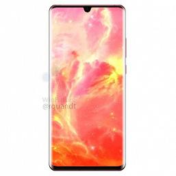 Новые рендеры флагманских смартфонов Huawei: P30 Pro в красном цвете и с ИК-излучателем, P30 – со стандартным разъемом для наушников