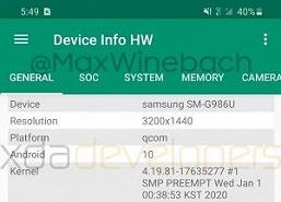 Рабочий Samsung Galaxy S20+ продемонстрировали вживую. Есть плохая и хорошая новости
