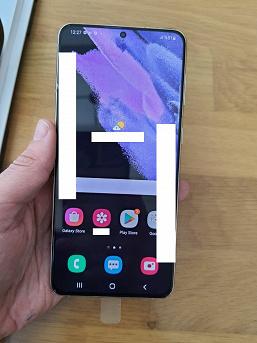 Кто-то уже имел возможность опробовать Samsung GalaxyS21+. Появились фотографии новинки