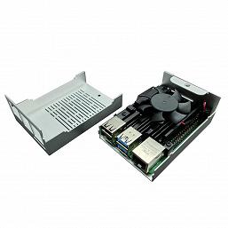 Корпус Gelid Iceberry обеспечивает активное охлаждение одноплатного компьютера Raspberry Pi 4