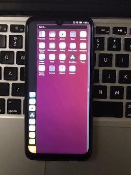 Посмотрите на Redmi Note 7 с Ubuntu Touch