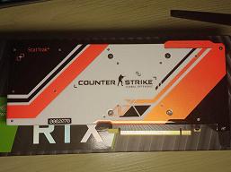Вероятно, очень редкая GeForce RTX 2070 Super для фанатов CS:GO. Такие карты Nvidia дарила в рамках конкурса в Китае
