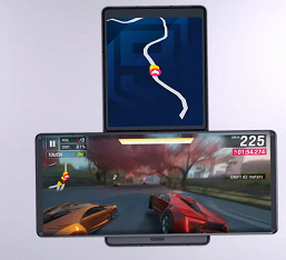 Представлен смартфон-ротатор LG Wing с двумя экранами и выдвижной камерой