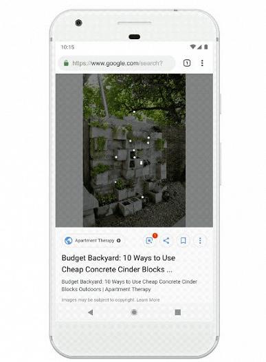 Google существенно улучшила поиск картинок, добавлена поддержка Google Lens