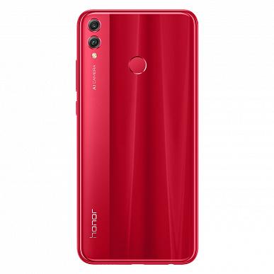 Большой смартфон Honor 8X представлен в России