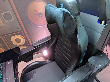 Фотогалерея дня: игровой трон Acer Predator Thronos