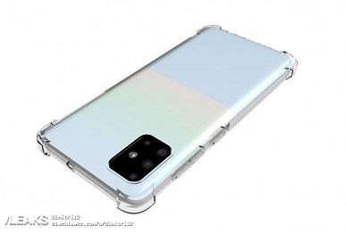 Экран Infinity-O, квадрокамера как у Smartisan Nut Pro 3 и сложный окрас. Samsung Galaxy A51 позирует на новых изображениях