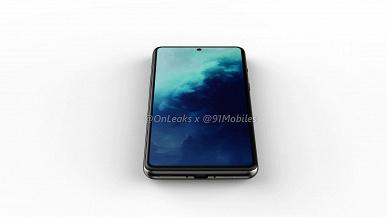 Это точно не Samsung? OnePlus 8 Lite, очень похожий на Galaxy S11e, впервые позирует на качественных рендерах