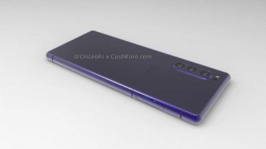 Смартфон Sony Xperia 2 позирует на рендерах и в видео — он станет компактнее предшественника, но сохранит тройную камеру